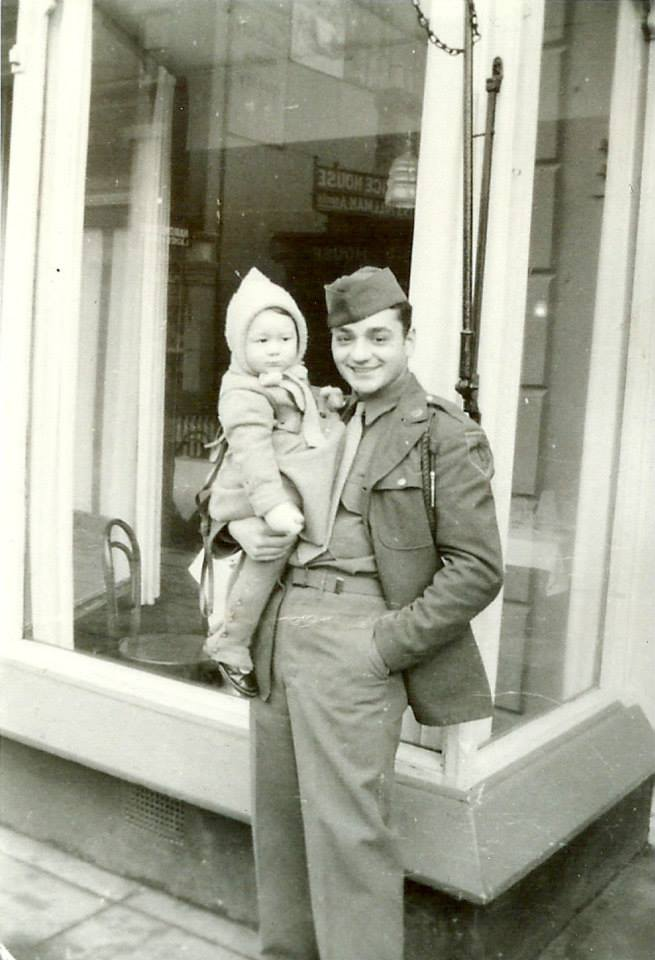 Early 1944 Private Swanage, England