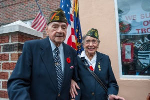 Rocco and his friend Margie Zwick, who served in the Women's Army Corps.