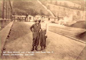 Morreto and Jaffe June 1945 Graslitz